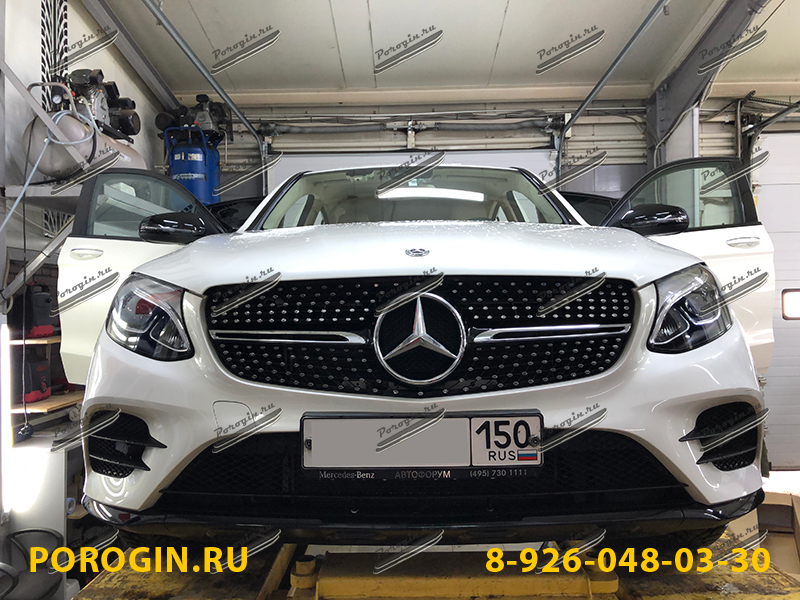 Mercedes-Benz GLC COUPE C253 2016-2019