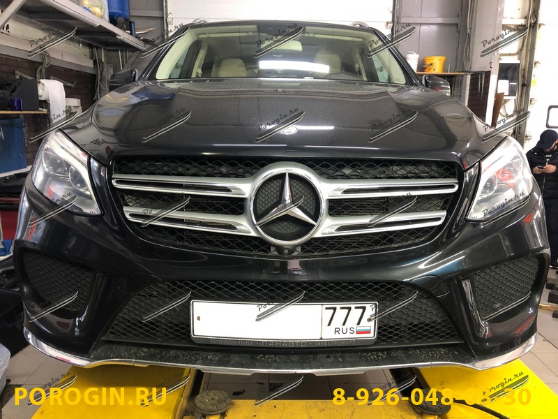 Mercedes-Benz GLE-W166 2015-2018
